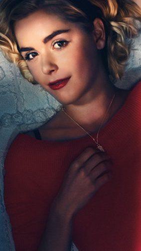 Kiernan Shipka In The Chilling Adventures of Sabrina Series 4K Ultra HD Mobile Wallpaper