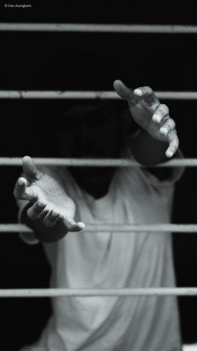 Man Hands Dark Deep Thought Photography 4K Ultra HD Mobile Wallpaper