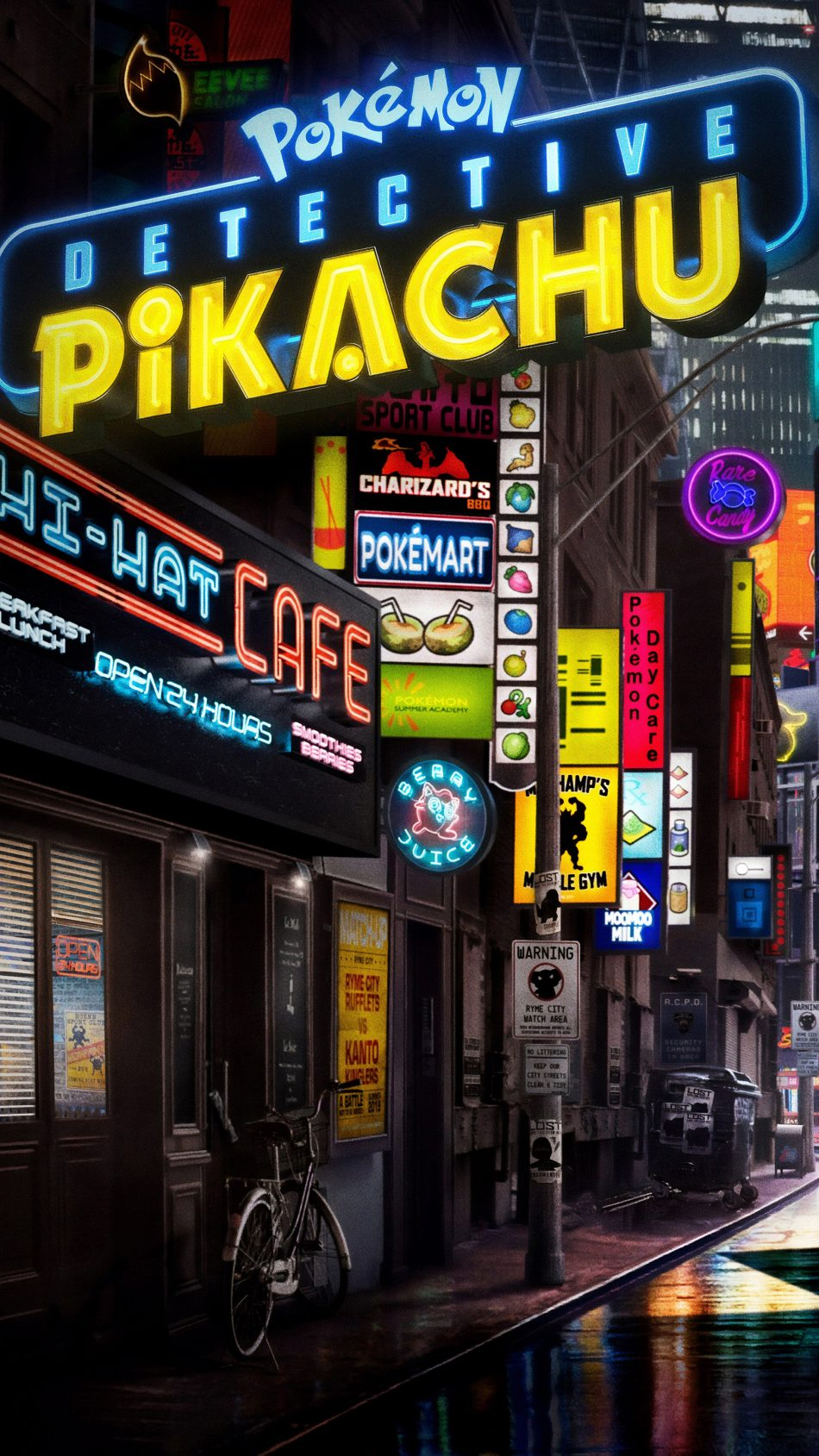 Pokémon Detective Pikachu 4K Ultra HD Mobile Wallpaper