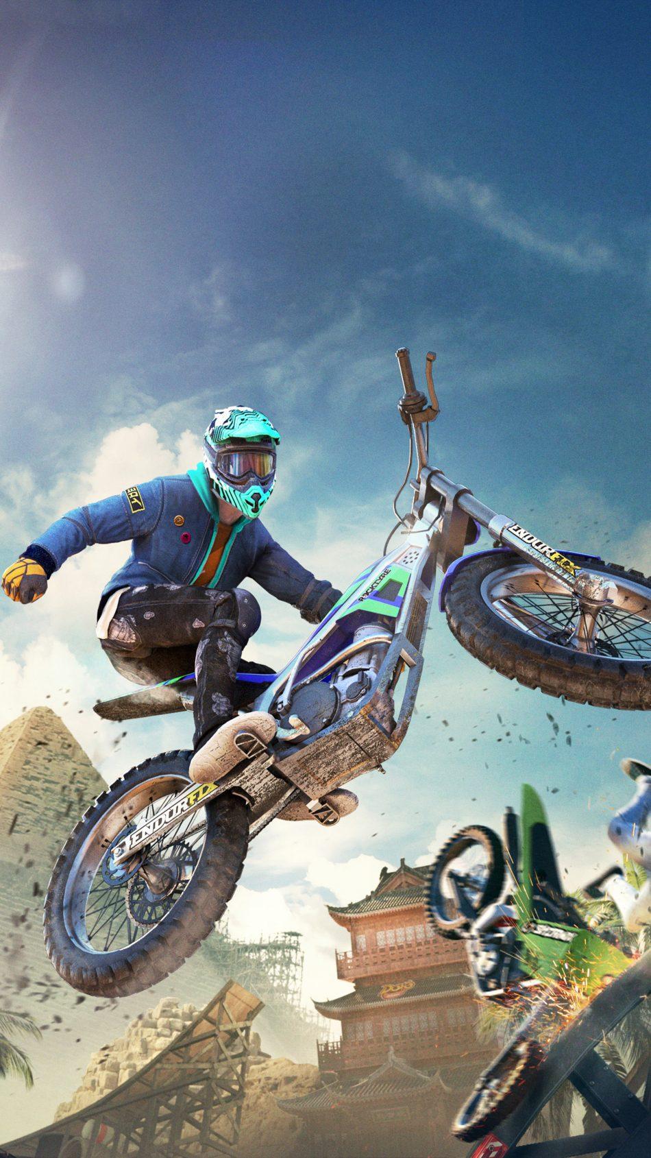 Trials Rising Video Game 4K Ultra HD Mobile Wallpaper