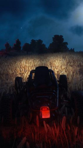 PUBG Buggy Night Mode Driving 4K Ultra HD Mobile Wallpaper
