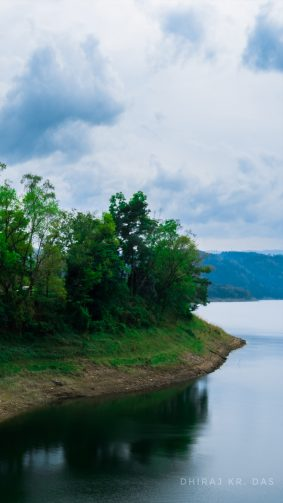 Umiam Lake Barapani Meghalaya 4K Ultra HD Mobile Wallpaper
