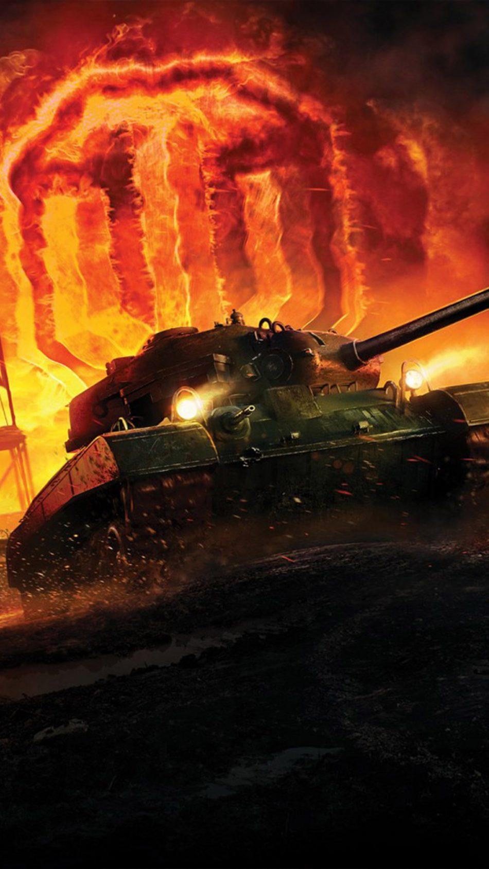 World of Tanks Video Game 4K Ultra HD Mobile Wallpaper