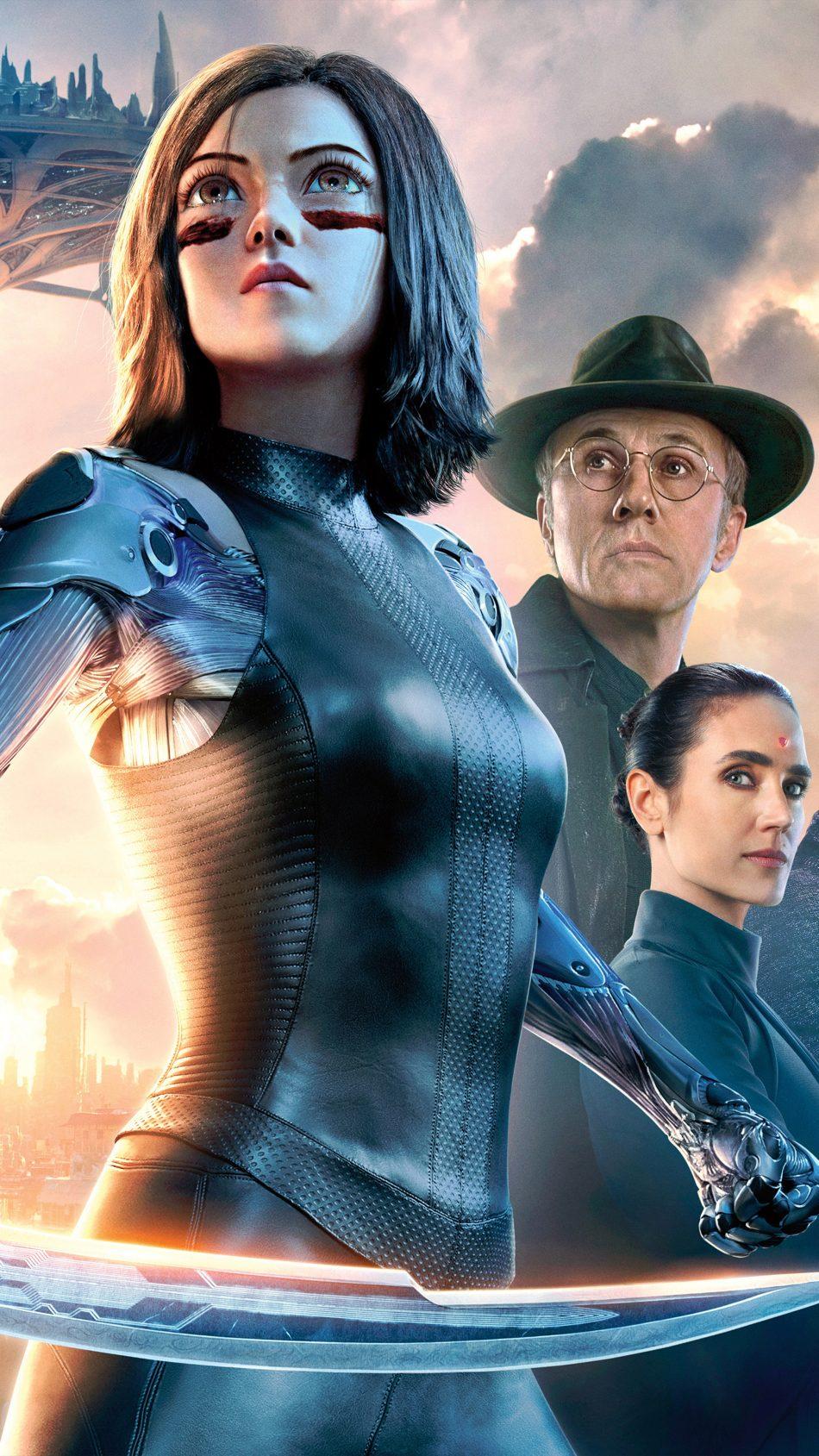 Alita Battle Angel Sci Fi Movie 2019 4K Ultra HD Mobile Wallpaper