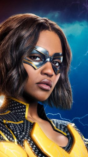 Black Lightning China Anne McClain 4K Ultra HD Mobile Wallpaper
