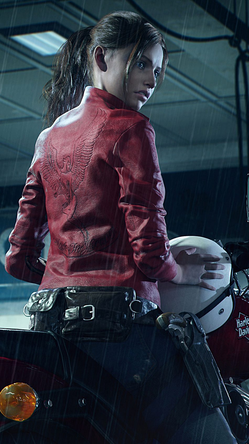 Claire Redfield Resident Evil 2 4K Ultra HD Mobile Wallpaper