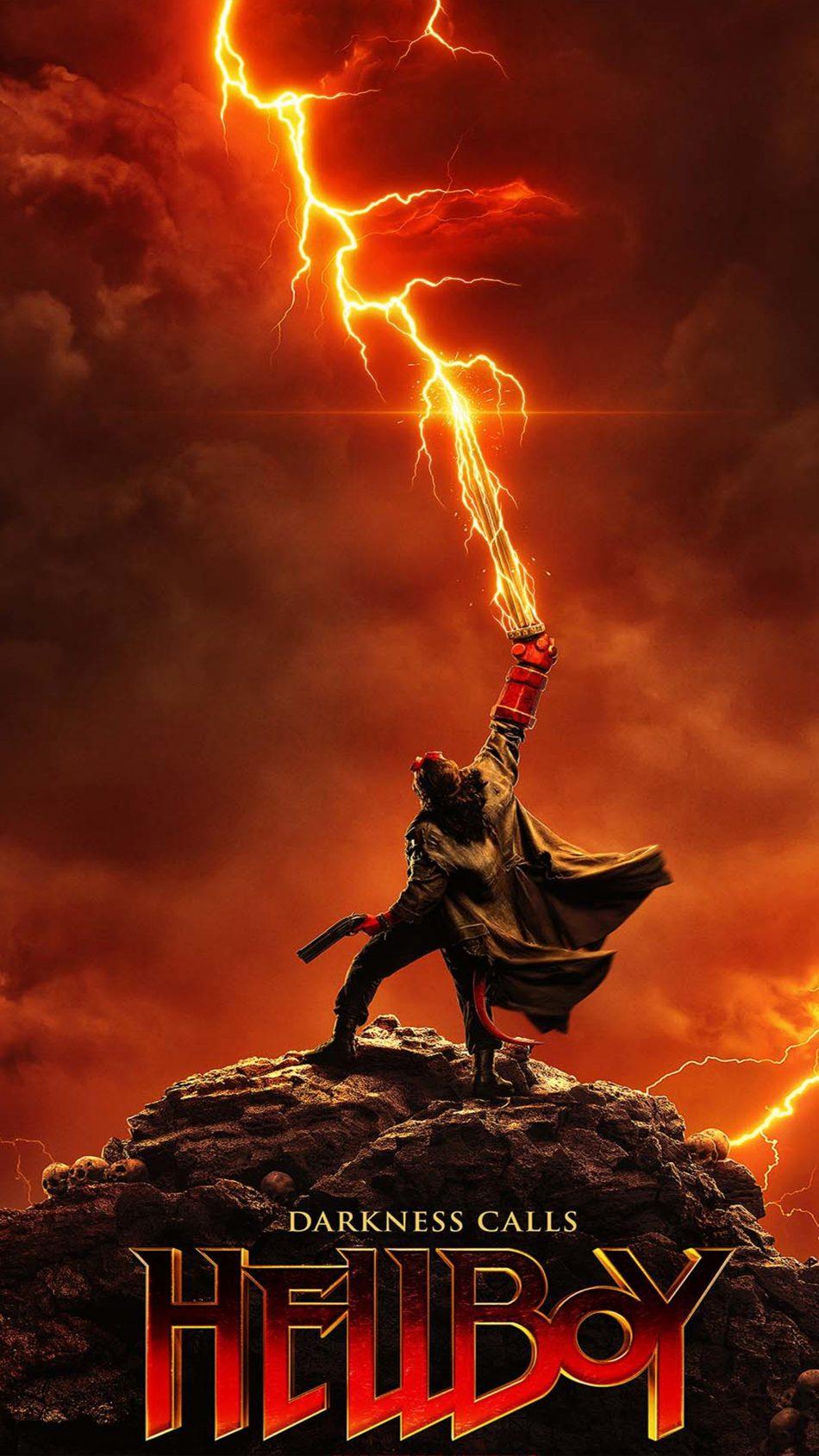 Darkness Calls Hellboy 2019 4K Ultra HD Mobile Wallpaper