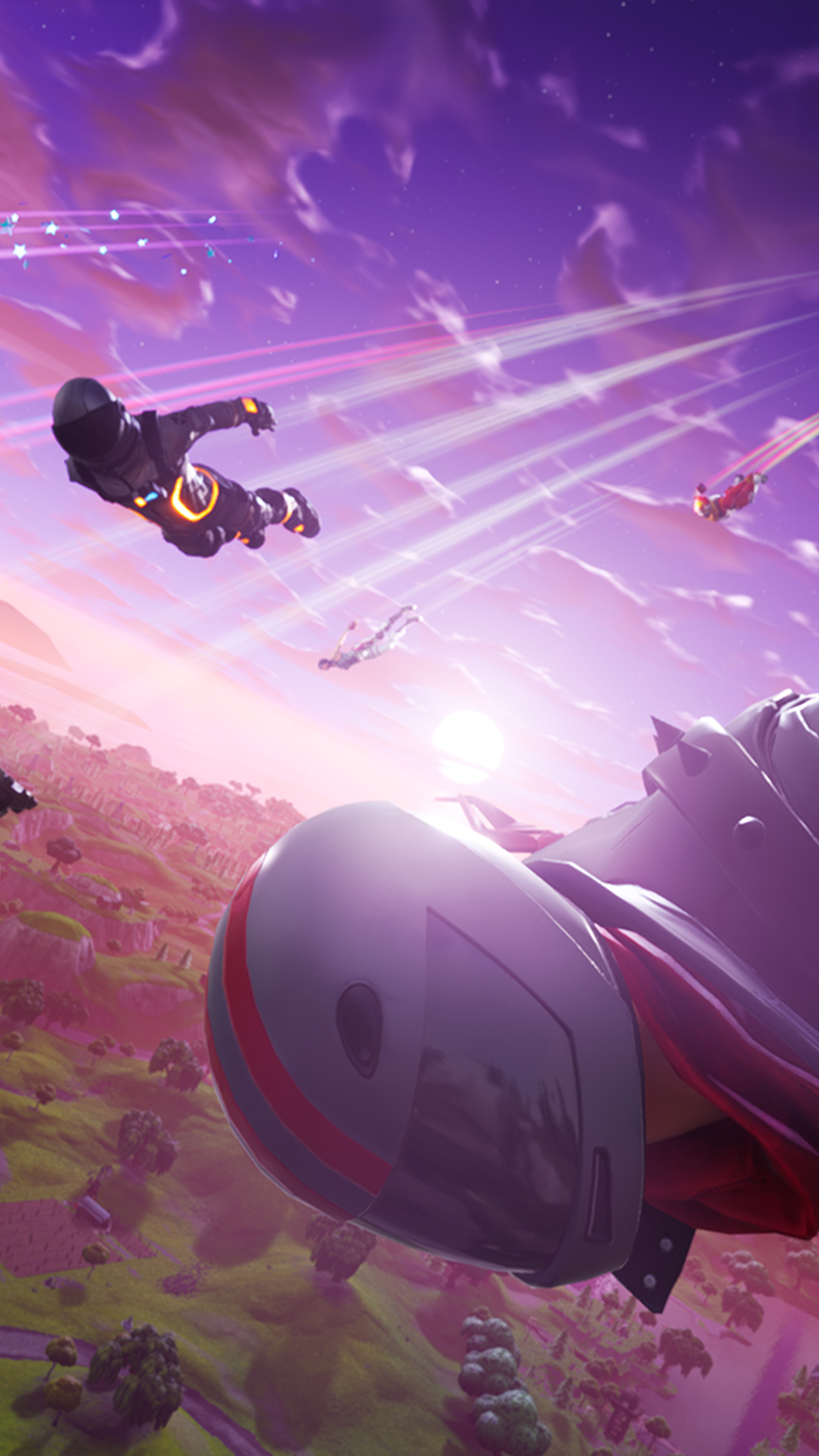Download fortnite season competition jump free pure 4k - 4k love wallpaper for mobile ...