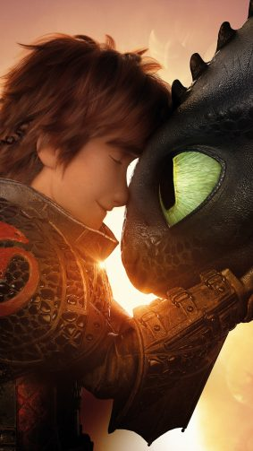 Hiccup Night Fury Toothless How To Train Your Dragon 3 4K Ultra HD Mobile Wallpaper