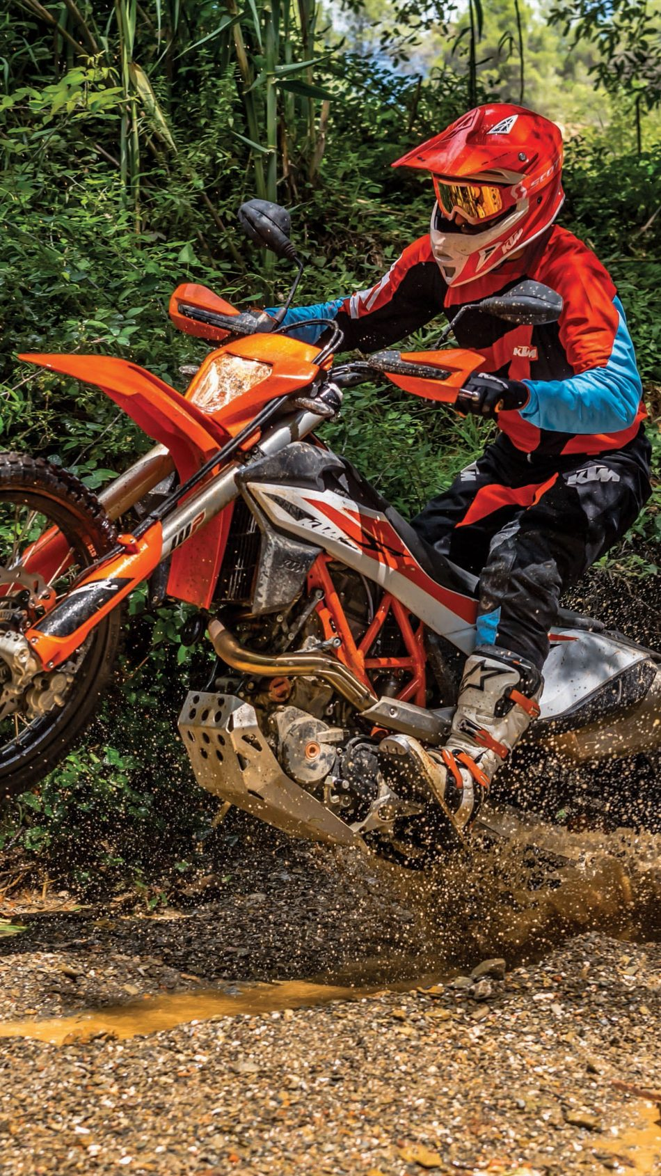 KTM 690 Enduro R 2019 4K Ultra HD Mobile Wallpaper