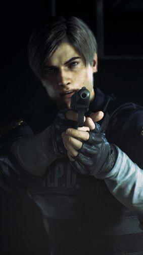 Leon S. Kennedy Resident Evil 2 4K Ultra HD Mobile Wallpaper