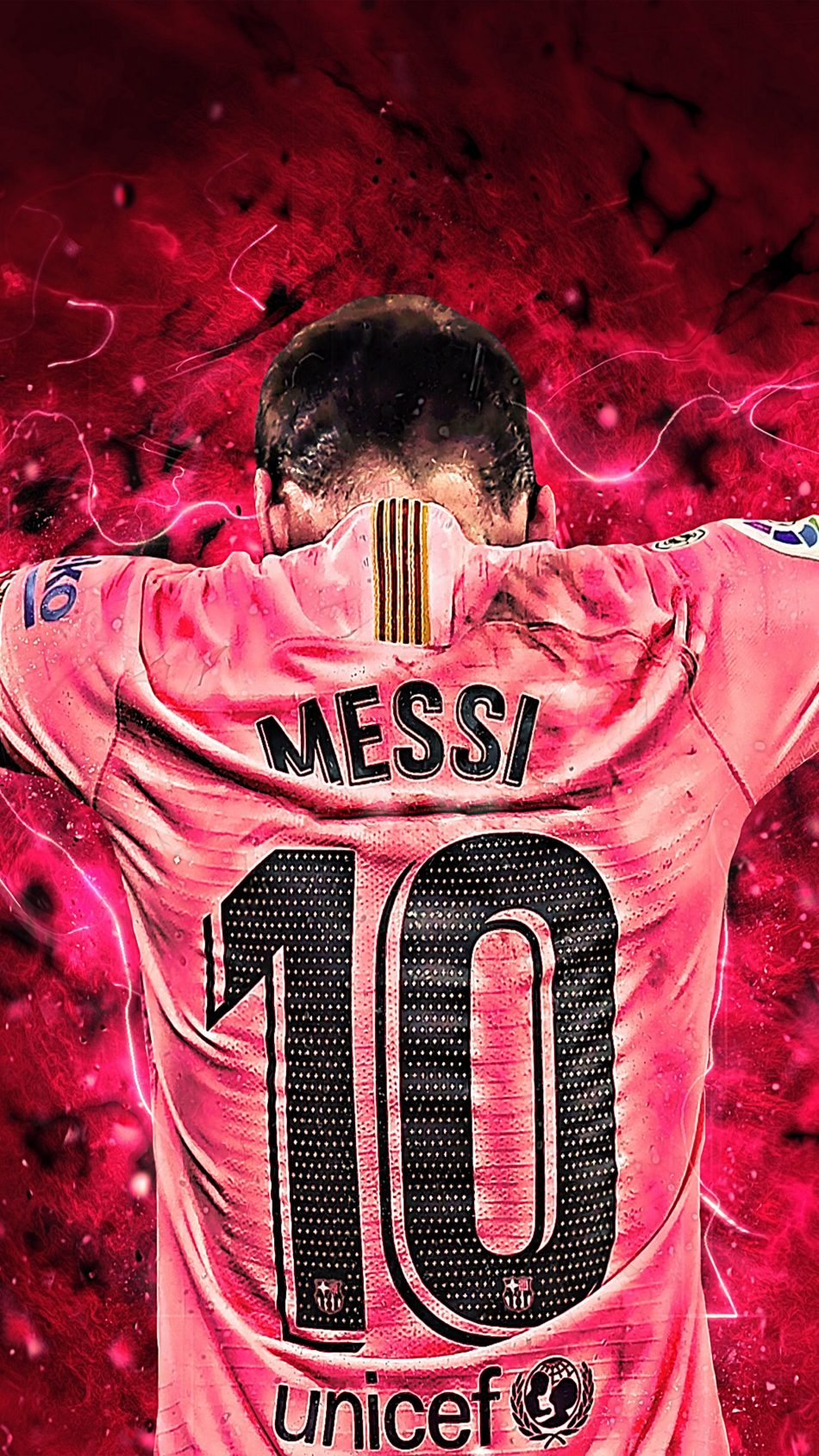 Messi 10 Art Graphics 4K Ultra HD Mobile Wallpaper