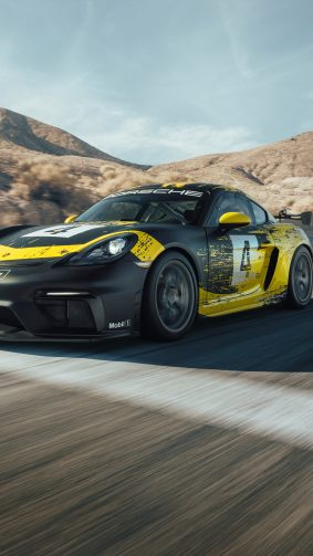 Porsche 718 Cayman GT4 Clubsport 4K Ultra HD Mobile Wallpaper