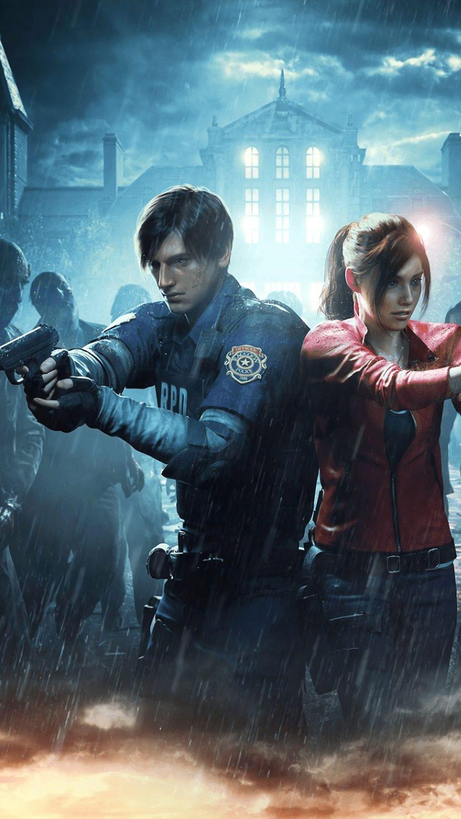 Resident Evil 2 Game 2019 4k Ultra Hd Mobile Wallpaper