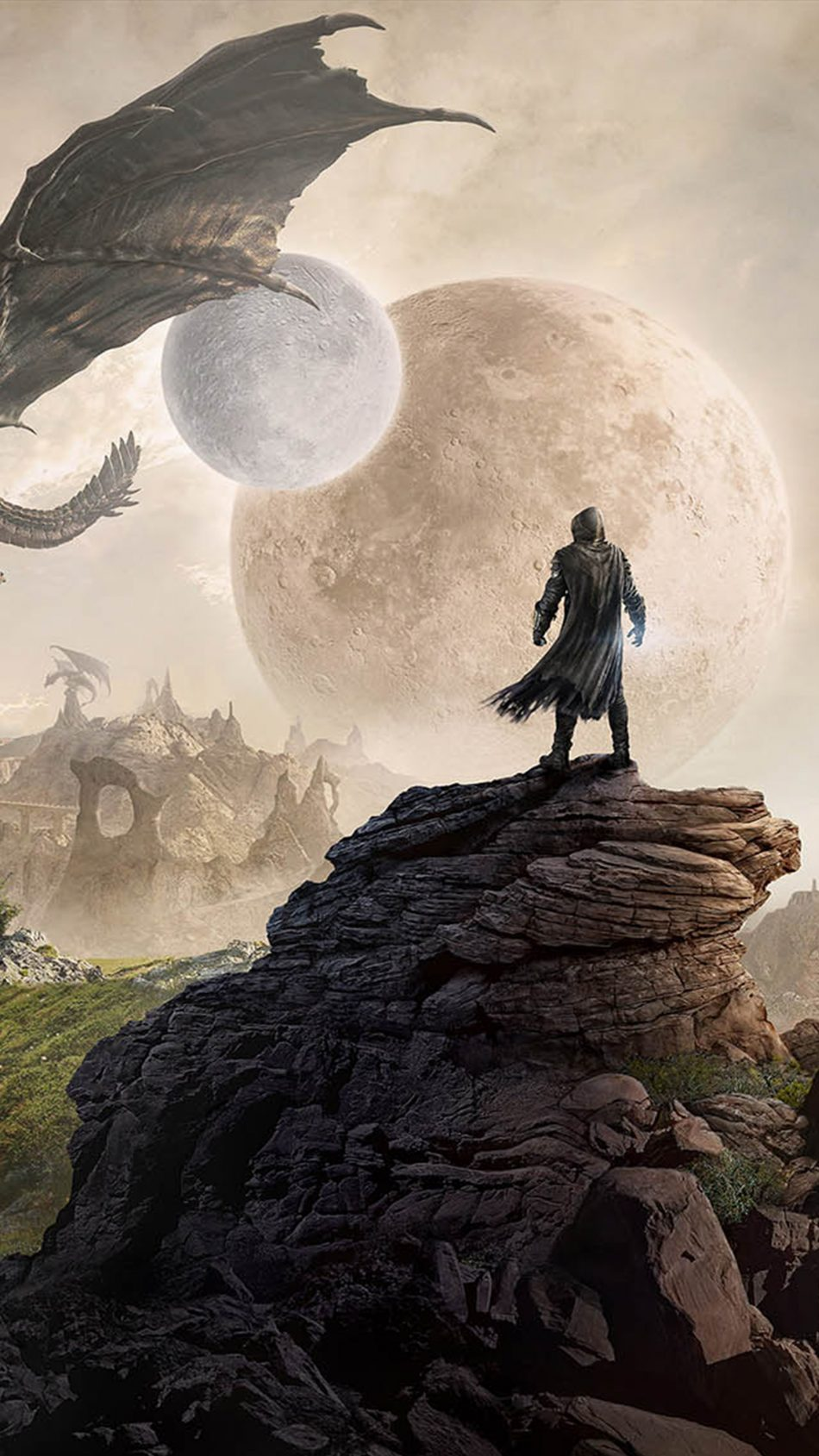 The Elder Scrolls Online Elsweyr 4K Ultra HD Mobile Wallpaper