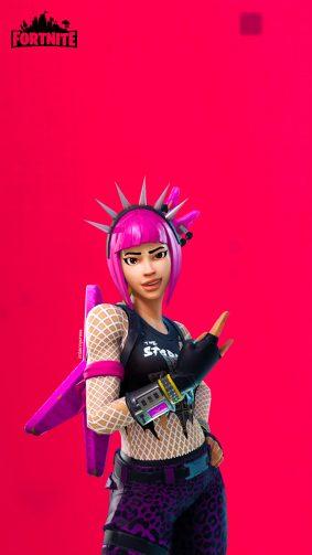 Fortnite Punk Girl 4K Ultra HD Mobile Wallpaper