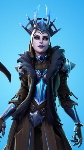 Ice Queen Fortnite 4K Ultra HD Mobile Wallpaper