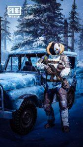 PUBG Mobile Snowman 4K Ultra HD Mobile Wallpaper