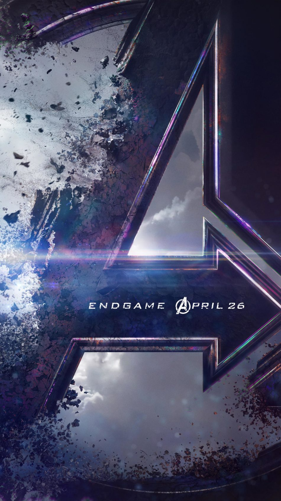 Avengers Endgame Logo 4K Ultra HD Mobile Wallpaper