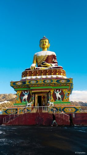 Buddha Statue Tawang 4K Ultra HD Mobile Wallpaper