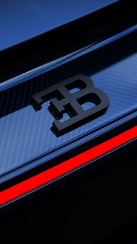 Bugatti Logo 4K Ultra HD Mobile Wallpaper