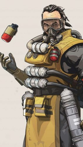 Caustic Apex Legends 4K Ultra HD Mobile Wallpaper