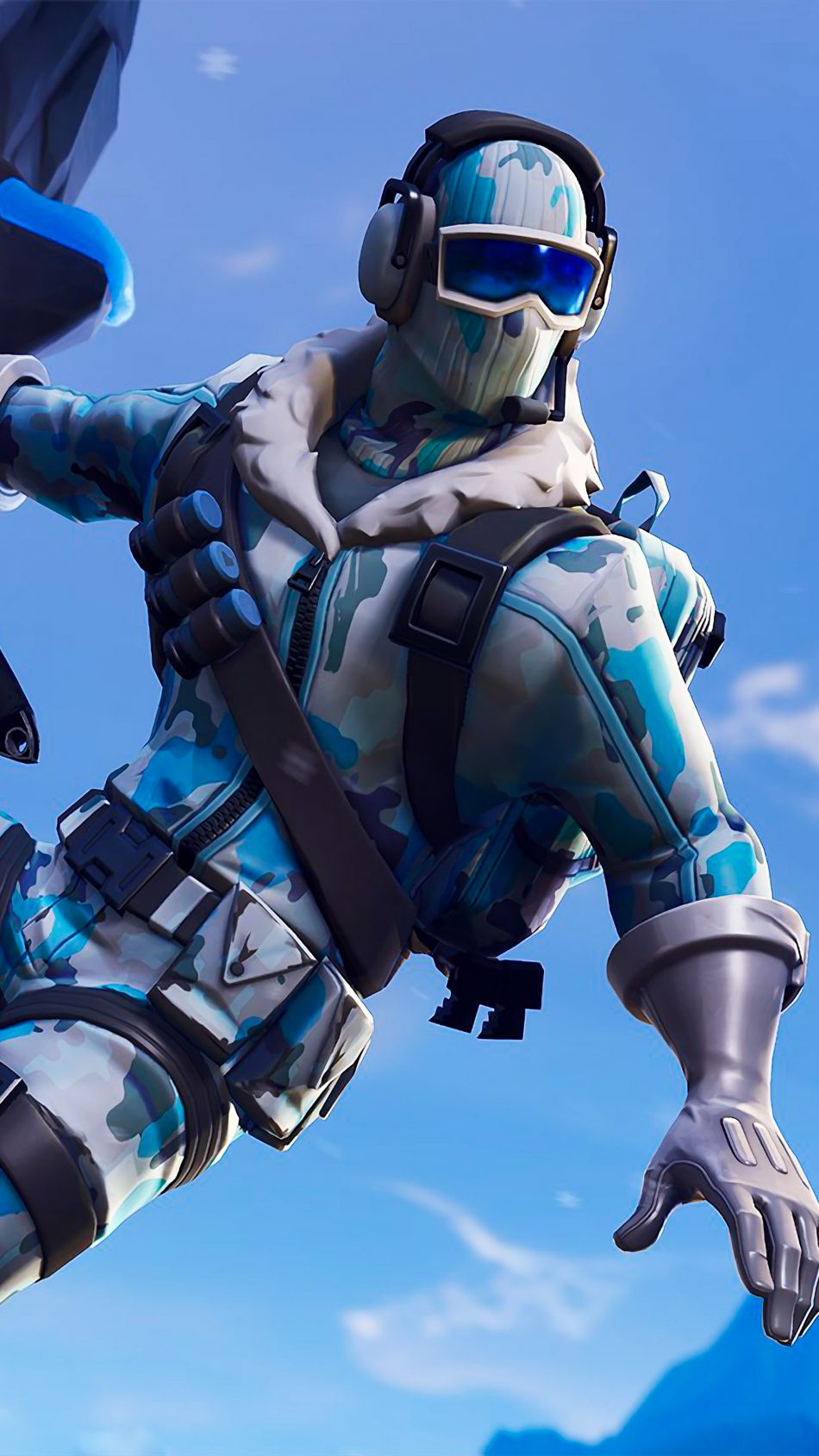 Fortnite Deep Freeze Bundle 4K Ultra HD Mobile Wallpaper
