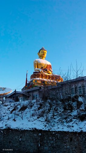 Giant Buddha Statue Tawang 4K Ultra HD Mobile Wallpaper