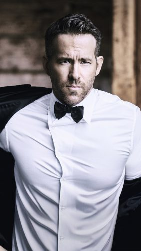 Ryan Reynolds Canadian Actor 4K Ultra HD Mobile Wallpaper