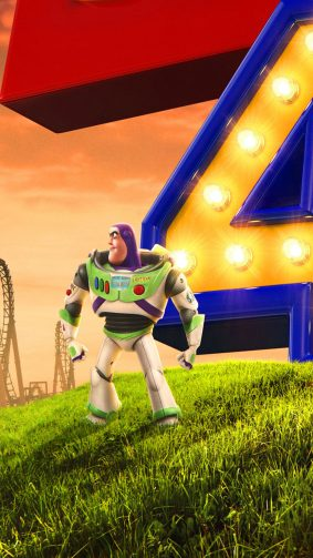 Toy Story 4 Buzz Lightyear 2019 Animation 4K Ultra HD Mobile Wallpaper