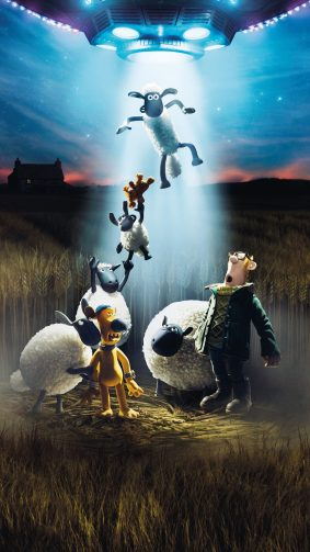 A Shaun The Sheep Movie Farmageddon Animation 4K Ultra HD Mobile Wallpaper