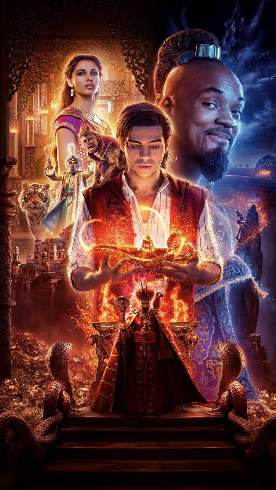 Aladdin 2019 4K Ultra HD Mobile Wallpaper