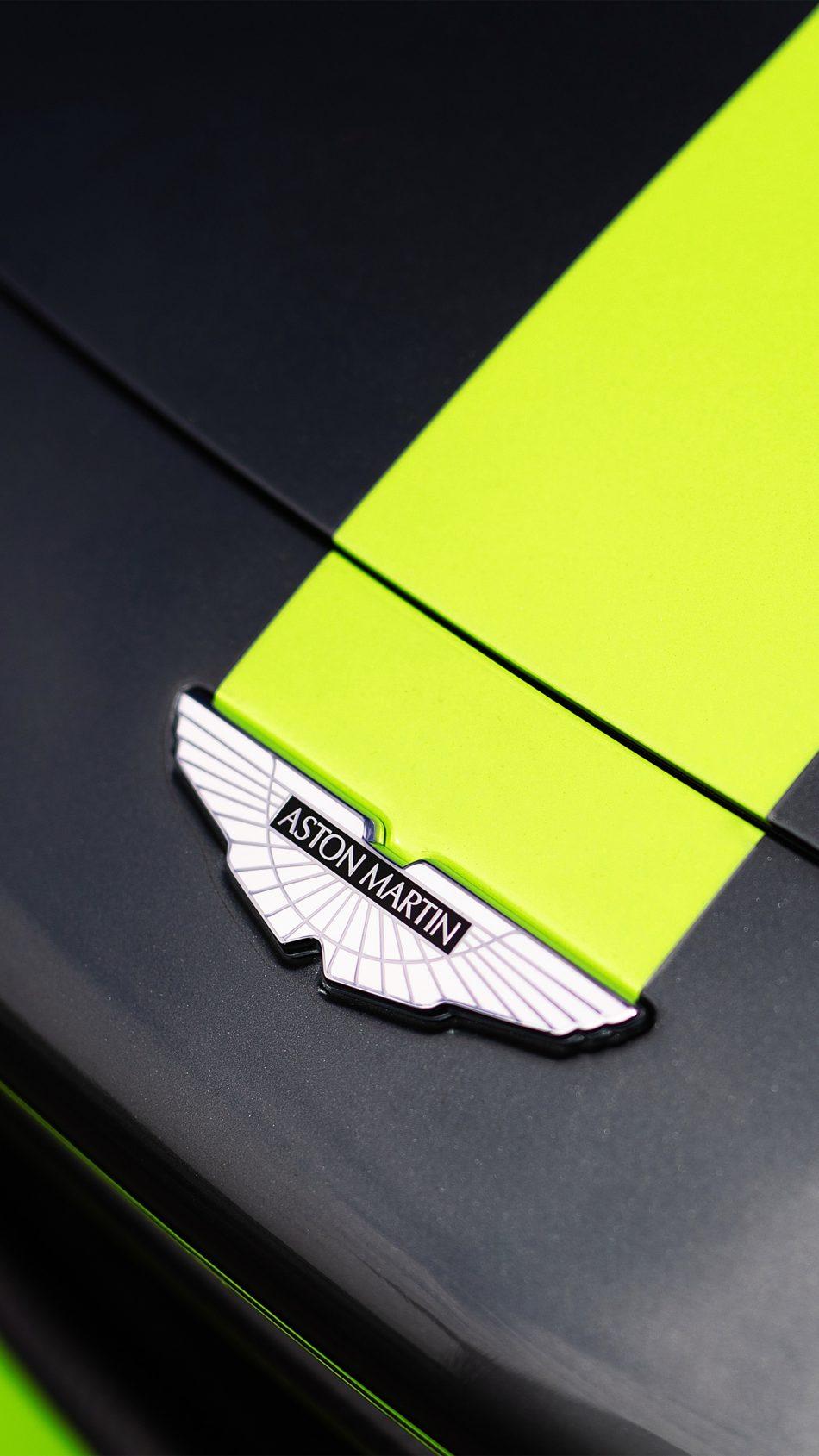 Aston Martin Logo 4K Ultra HD Mobile Wallpaper