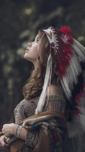 Beautiful Native American 4K Ultra HD Mobile Wallpaper