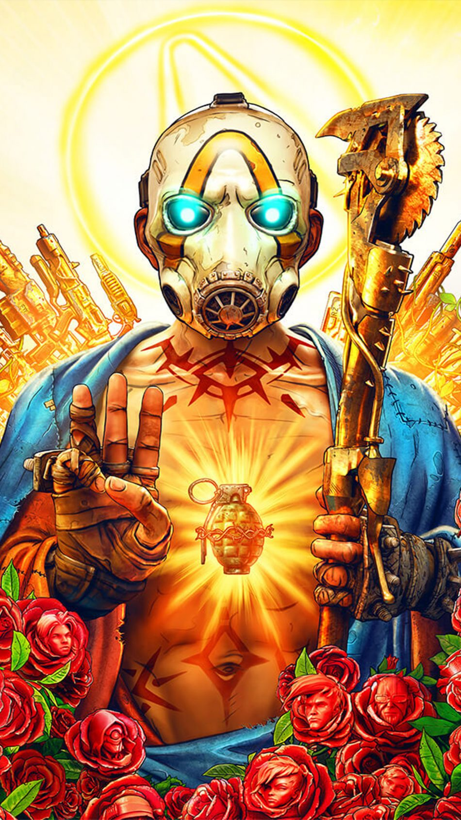 Download Borderlands 3 Free Pure 4K Ultra HD Mobile Wallpaper
