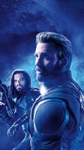 Captain America & Bucky Barnes In Avengers Endgame 4K Ultra HD Mobile Wallpaper