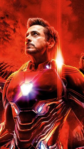 Iron Man In Avengers Endgame 4K Ultra HD Mobile Wallpaper