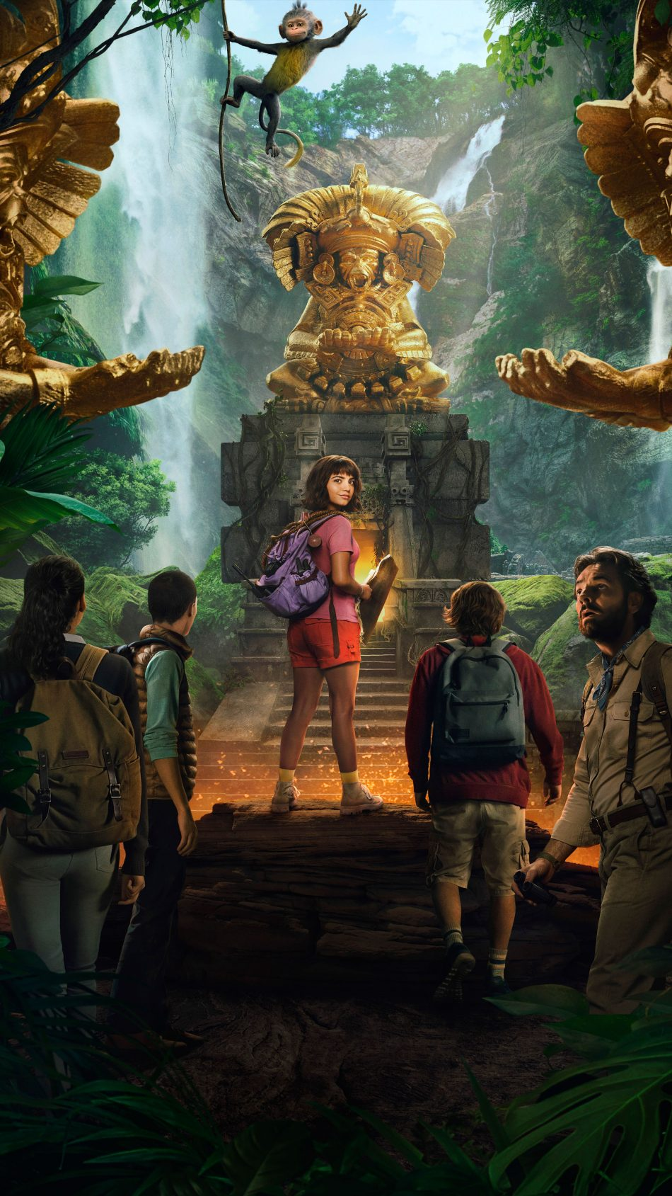 Isabela Moner In Dora And The Lost City of Gold 2019 4K Ultra HD Mobile Wallpaper