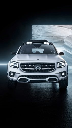Mercedes Benz Concept GLB 2019 4K Ultra HD Mobile Wallpaper