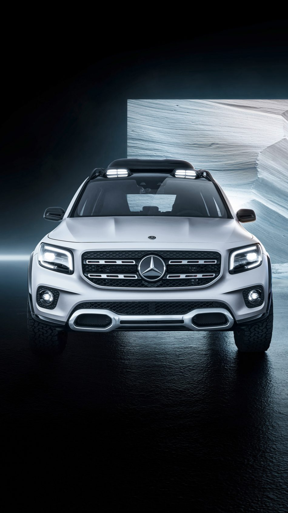 Download Mercedes Benz Concept Glb 2019 Free Pure 4k Ultra Hd Mobile