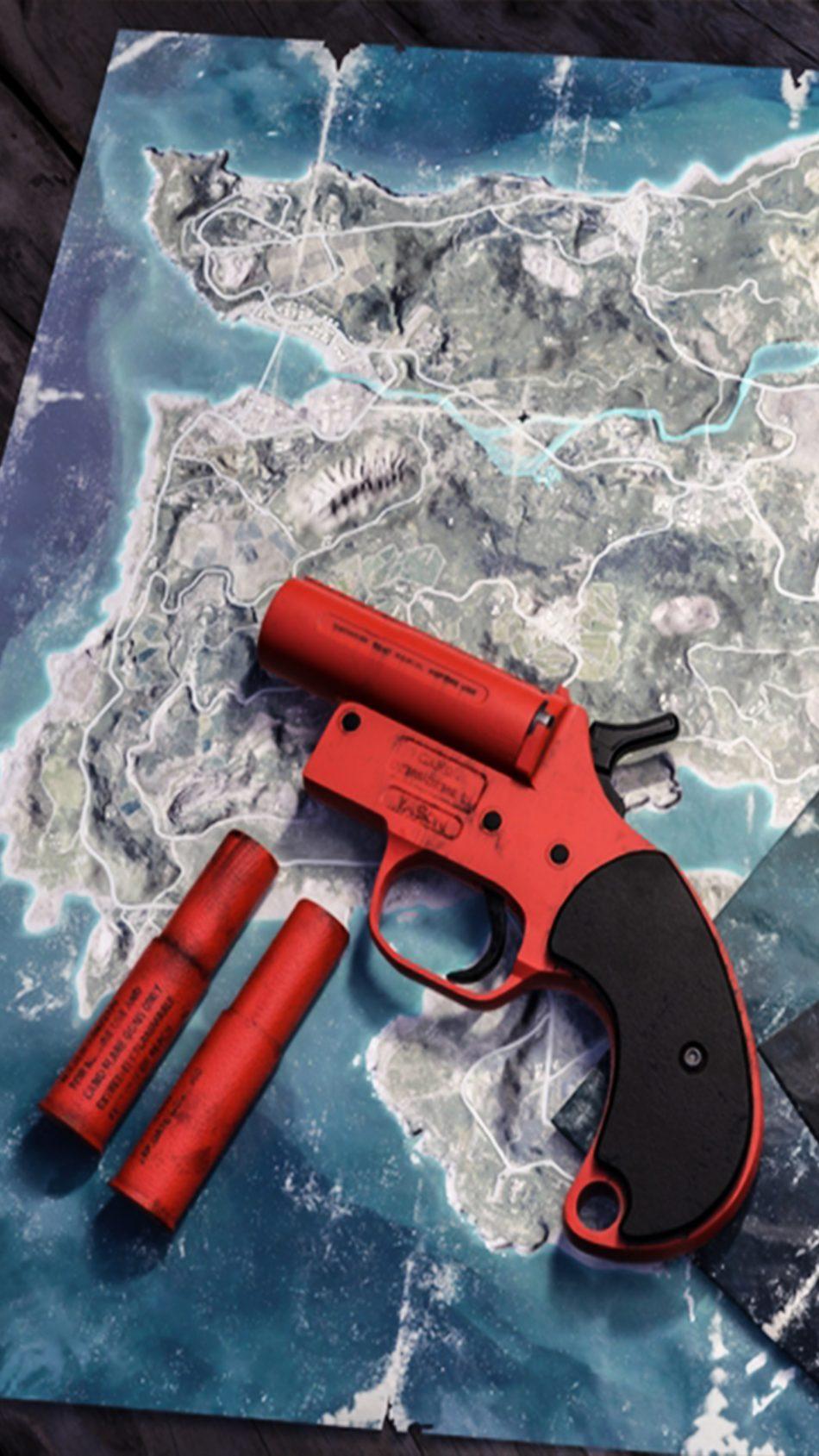 Download Pubg Flare Gun Free Pure 4k Ultra Hd Mobile Wallpaper