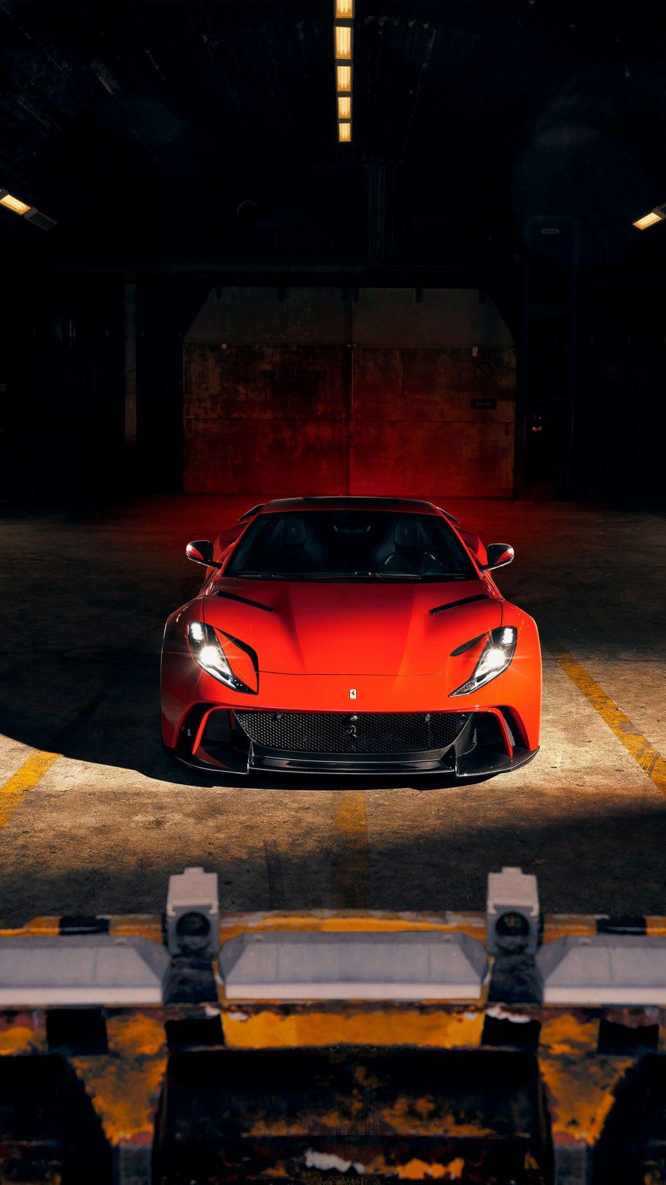 Ferrari 812 Superfast N Largo 4K Ultra HD Mobile Wallpaper