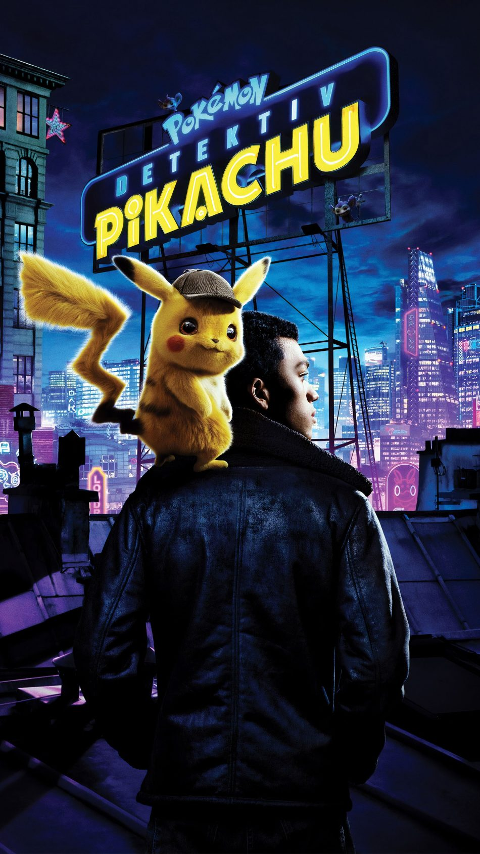 Justice Smith In Pokemon Detective Pikachu 2019 4k Ultra Hd Mobile