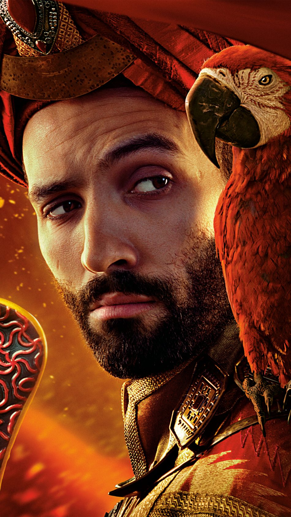 Marwan Kenzari As Jafar In Aladdin 2019 4K Ultra HD Mobile Wallpaper