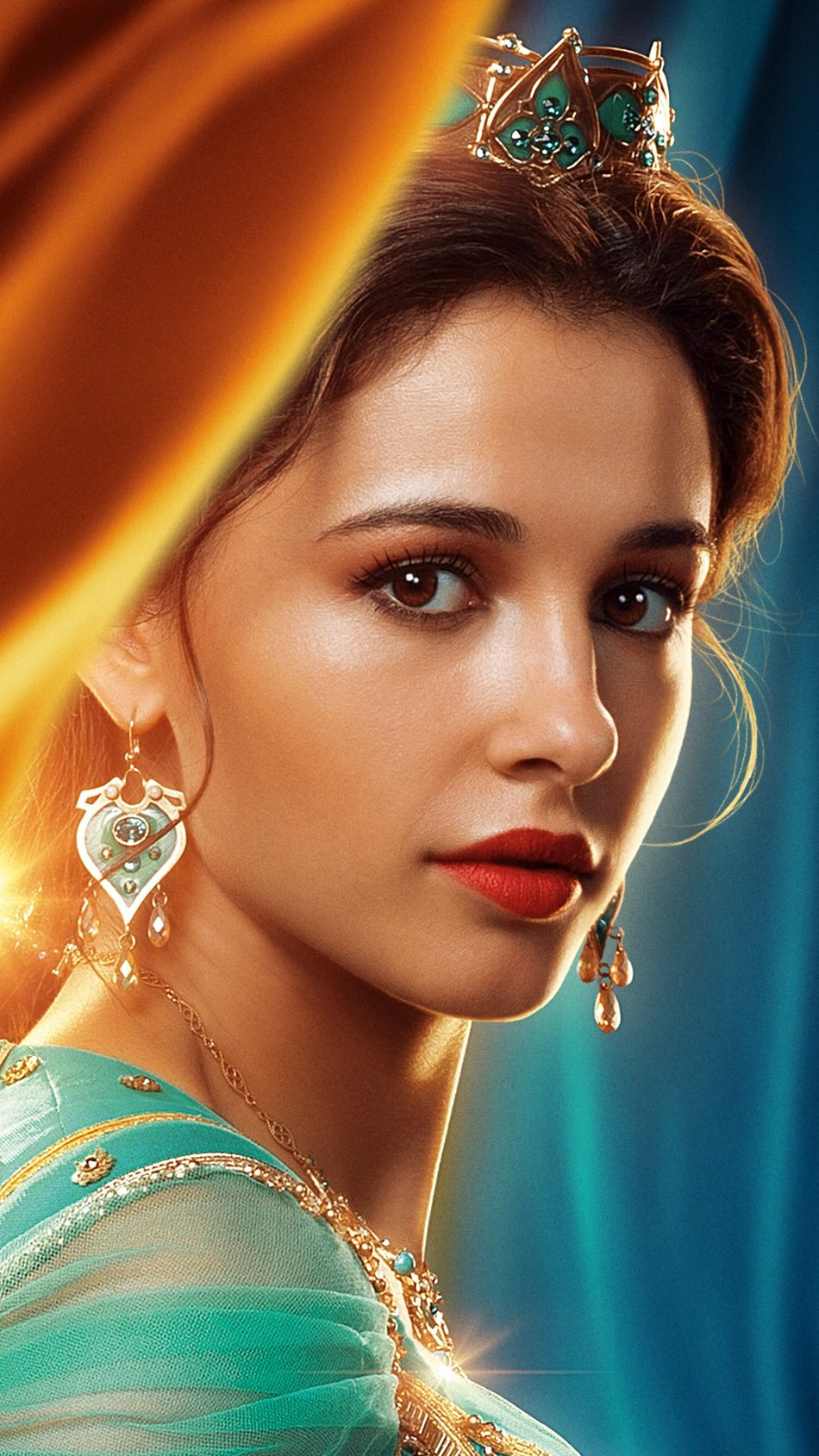 Princess Jasmine In Aladdin 2019 4K Ultra HD Mobile Wallpaper