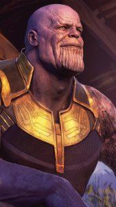 Thanos In Avengers Endgame 4K Ultra HD Mobile Wallpaper