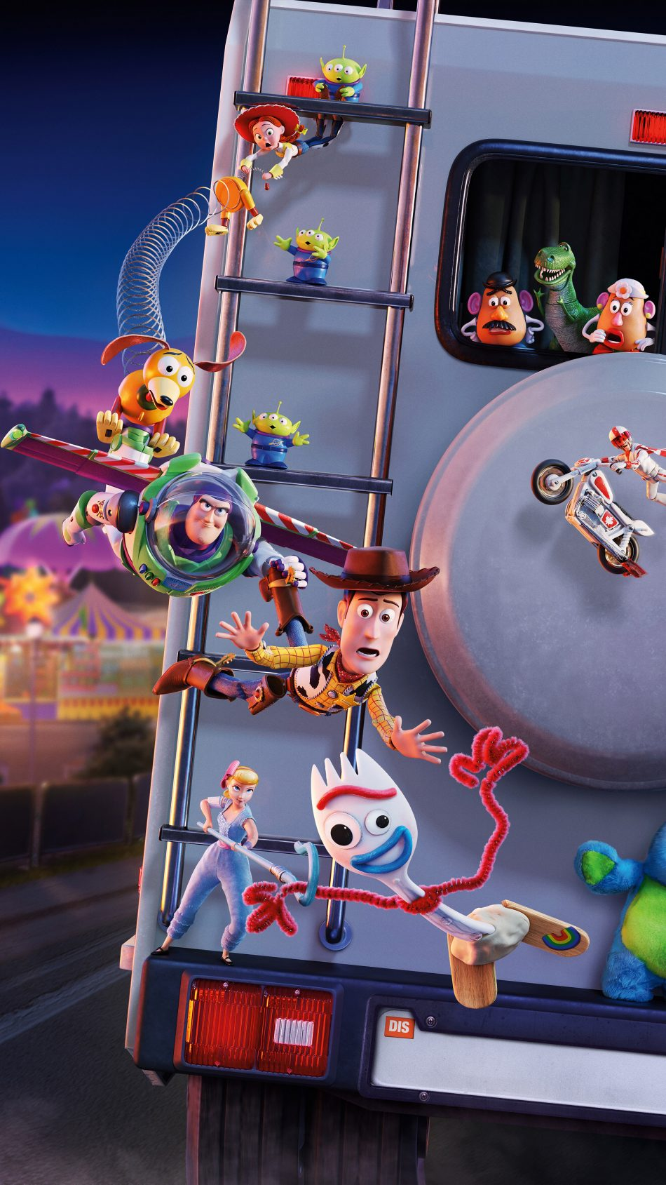 Toy Story 4 2019 Animation 4K Ultra HD Mobile Wallpaper