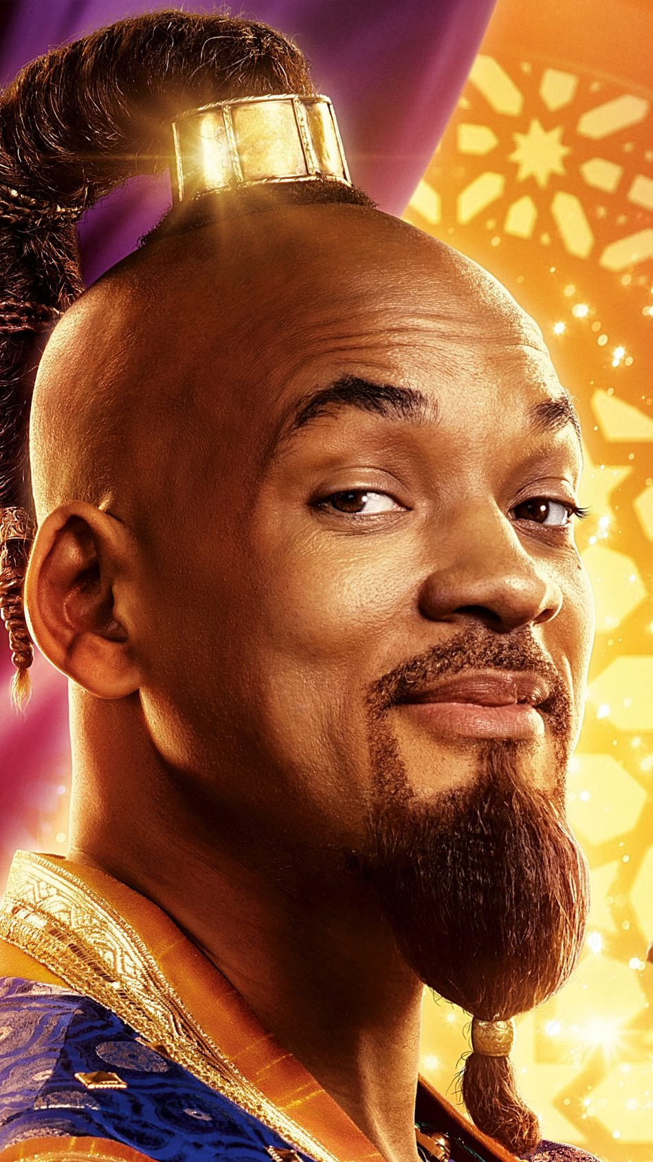 Will Smith In Aladdin 2019 4K Ultra HD Mobile Wallpaper