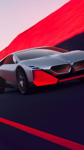 BMW Vision M-Next Concept Car 4K Ultra HD Mobile Wallpaper