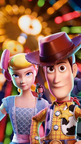 Bo Peep & Woody In Toy Story 4 Animation 4K Ultra HD Mobile Wallpaper